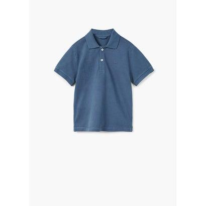 ポロシャツ .-- POLO (ネイビーブルー)
