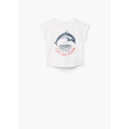 Tシャツ .-- FRIENDLY (ナチュラルホワイト)