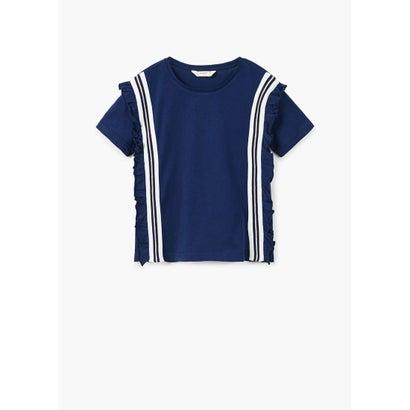 Tシャツ .-- SUSI (ミディアムブルー)