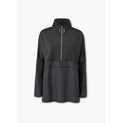 スポーツスウェットシャツ .-- GARU (ブラック)