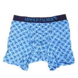 【返品不可商品】アーノルドパーマー arnold palmer プレーンプリントボクサーパンツ (ブルー)