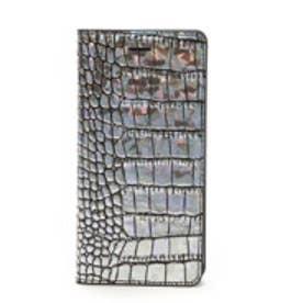 ゲイズ GAZE iPhone6 Hologram Croco Diary(シルバー)