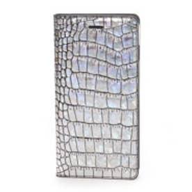 ゲイズ GAZE iPhone6 Plus Hologram Croco Diary(シルバー)