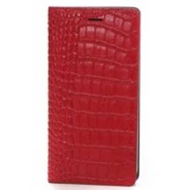ゲイズ GAZE iPhone6 Plus Vivid Croco Diary レッド(レッド)