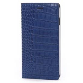 ゲイズ GAZE iPhone6 Plus Vivid Croco Diary コバルトブルー(コバルトブルー)