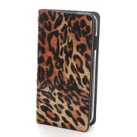 ゲイズ GAZE iPhone6 Leopard Calf Hair Diary(レオパード)