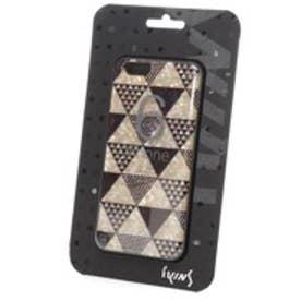 アイキンス iKins iPhone6 天然貝ケース Pyramid ブラックフレーム(Pyramid ブラック)