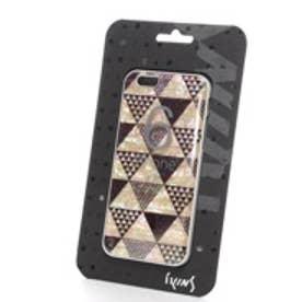 アイキンス iKins iPhone6 天然貝ケース Pyramid ホワイトフレーム(Pyramid ホワイト)