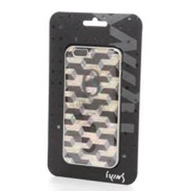 アイキンス iKins iPhone6 天然貝ケース Cube ホワイトフレーム(Cube ホワイト)