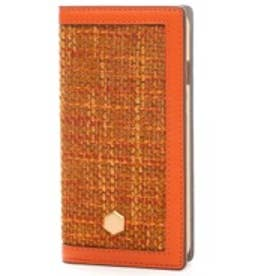 エスエルジーデザイン SLG Design iPhone6 D5 Edition Calf Skin Leather Diary(オレンジ)