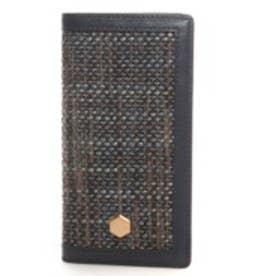 エスエルジーデザイン SLG Design iPhone6 D5 Edition Calf Skin Leather Diary(ネイビー)