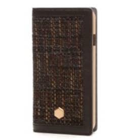 エスエルジーデザイン SLG Design iPhone6 D5 Edition Calf Skin Leather Diary(ブラウン)