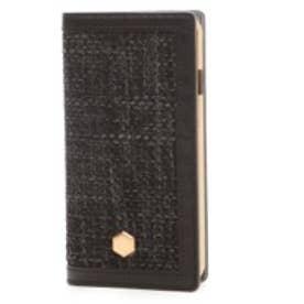 エスエルジーデザイン SLG Design iPhone6 D5 Edition Calf Skin Leather Diary(ブラック)