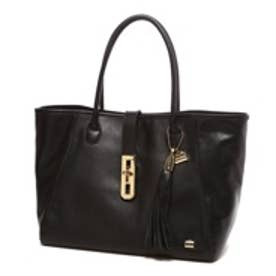 ★【キャンペーン対象品】ラ バガジェリー LA BAGAGERIE Cow Leather おむすびトート(BLACK)