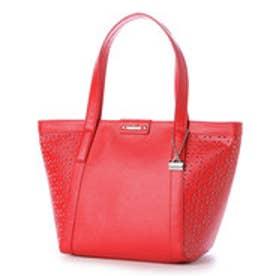 ラ バガジェリー LA BAGAGERIE 【WEB限定カラー】 パンチングトートバッグ Sサイズ (RED)