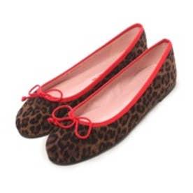 プリティ バレリーナ PrettyBallerinas MARILYN leopardprint(マリリン レオパードプリント)バレエシューズ (レオパード x ブラック)