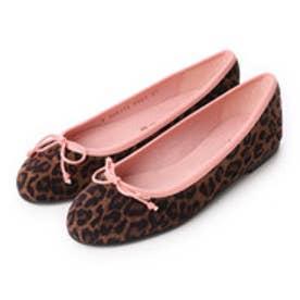 プリティ バレリーナ PrettyBallerinas MARILYN leopardprint(マリリン レオパードプリント)バレエシューズ (レオパード x ピンク)