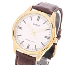 【maisonmou】 カシオ CASIO analog leather MTP-V005GL (7A BROWN*WHITE)