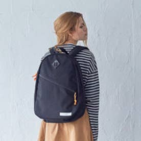 【ワーム デザイン ラボ  worm design lab】SLANTING ZIP RUCK (BLACK)
