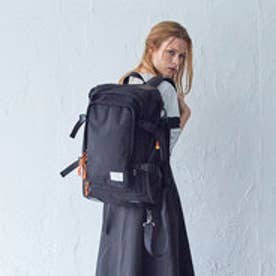 【ワーム デザイン ラボ  worm design lab】SQUARE BACKPACK (BLACK)