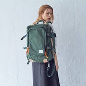 【ワーム デザイン ラボ  worm design lab】SQUARE BACKPACK (KHAKI)