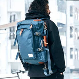 【ワーム デザイン ラボ  worm design lab】SQUARE BACKPACK (M.BLUE)