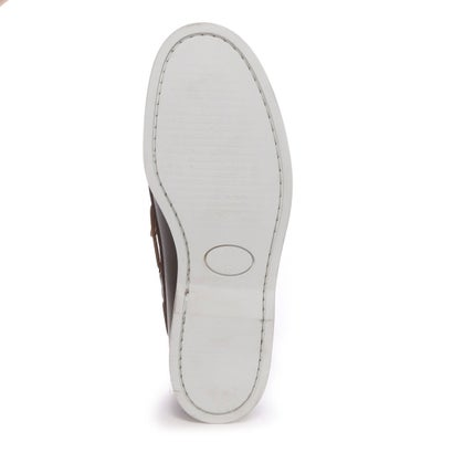 Daniele Lepori Indios Boat Shoes: Dark Brown