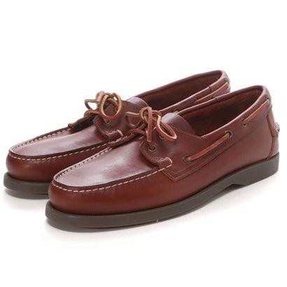 Daniele Lepori Indios Boat Shoes: Caramel