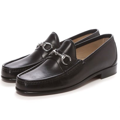 Daniele Lepori Horsebit Leather Moccasin: Black