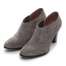 【STORY共同開発商品】プラス バイ ココチッチ plus by coco cicci サイドゴアブーティ (GRAY SUEDE)