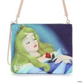 サマンサタバサプチチョイス ディズニーコレクション クラッチバッグ オーロラ姫(マルチカラー)