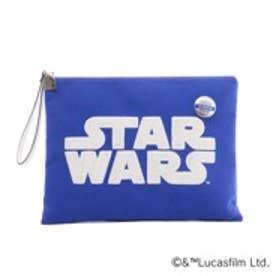 サマンサタバサ  STAR WARS クラッチBAG R2-D2(ブルー)