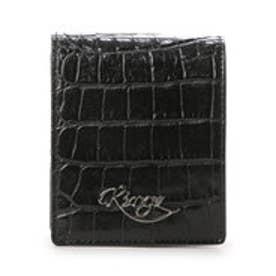 サマンサキングズ box札入れ(ロゴ)(ブラック)