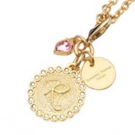 サマンサタバサデラックス ストーン付きイニシャルファスナートップ(R)(ゴールド)