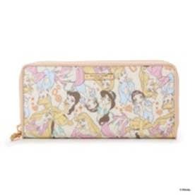サマンサタバサプチチョイス ディズニーコレクション ラウンドジップ長財布(ピンク)