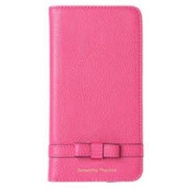 サマンサタバサ Mシュシュ iPhone6plusケース(フューシャピンク)