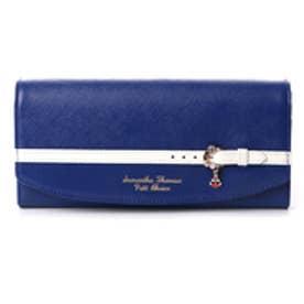 サマンサタバサプチチョイス バイカラーベルトシリーズ マリンバージョン 長財布(ネイビー)