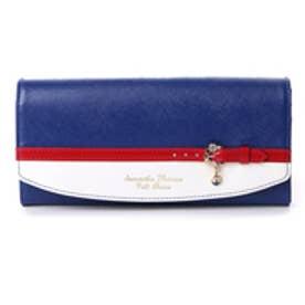 サマンサタバサプチチョイス バイカラーベルトシリーズ マリンバージョン 長財布(ブルー)
