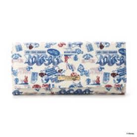 サマンサタバサプチチョイス ディズニーコレクション ファインディング・ドリー 総柄シリーズ 長財布(ホワイト)