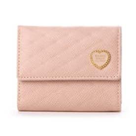 サマンサタバサプチチョイス ハートブローチシリーズ 口金財布(ピンク)