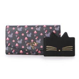 サマンサタバサプチチョイス バルーンキャットシリーズ ガジェット対応長財布(ブラック)
