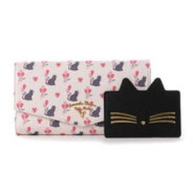 サマンサタバサプチチョイス バルーンキャットシリーズ ガジェット対応長財布(ホワイト)