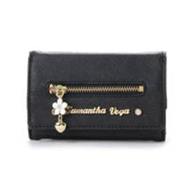 サマンサベガ シエナ ミニ財布(ブラック)