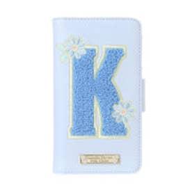 サマンサタバサプチチョイス イニシャルBOOK型iPhone7ケース K(インディゴ)