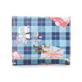 サマンサタバサプチチョイス Lara Collection ロンドンシリーズ ロンドンバス 折財布【3年保証対象品】(ネイビー)