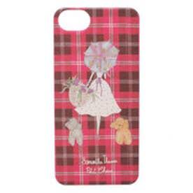 サマンサタバサプチチョイス Lara Collection ロンドンシリーズ iphoneケース(プラスチック)(フューシャピンク)