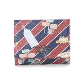 サマンサタバサプチチョイス Lara Collection ニューヨークシリーズ NY CITY 折財布【3年保証対象品】(ワインレッド)
