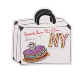 サマンサタバサプチチョイス Lara Collection ニューヨークシリーズ ワッペン(ハンバーガー)(マルチカラー)