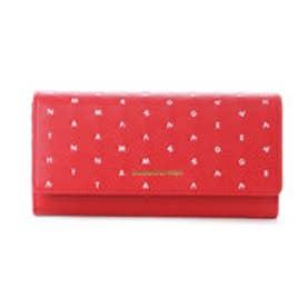 サマンサベガ ラグーン かぶせ財布(レッド)