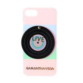 サマンサベガ レコードiphone7ケース(ピンク)